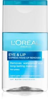 Loreal Paris Paris Skin Perfection dwufazowy płyn do demakijażu okolice oczu i usta 125 ml