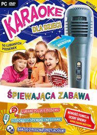 Karaoke dla dzieci: Śpiewająca zabawa + mikrofon PC