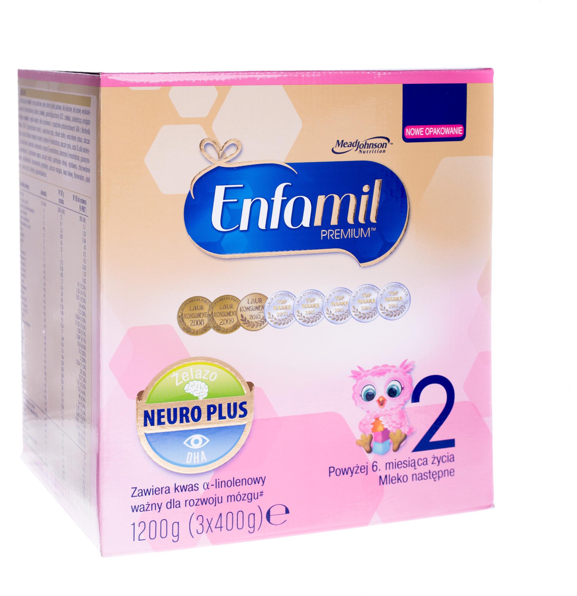 Enfamil Premium 2 neuro plus 1200 g