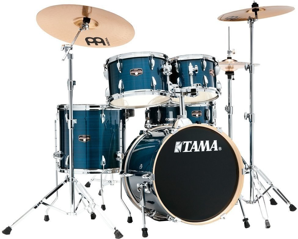 Tama Imperialstar IE58H6W-HLB + HCS Bronze zestaw perkusja kpl