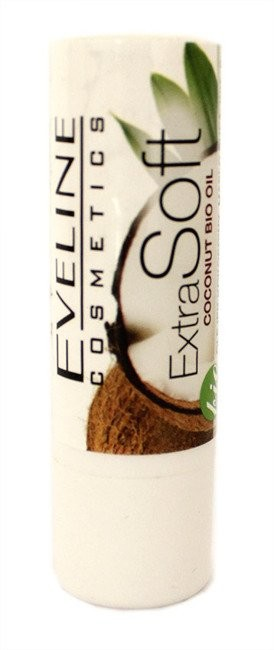 Eveline ExtraSoft Coconut Bio Oil Kokosowy balsam do ust 50415-uniw