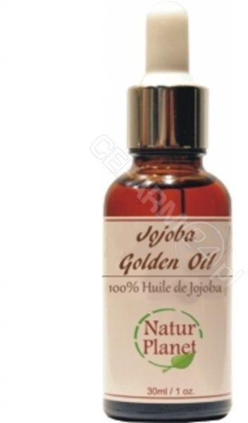 Natur Planet 100% organiczny olej Jojoba Golden 30 ml