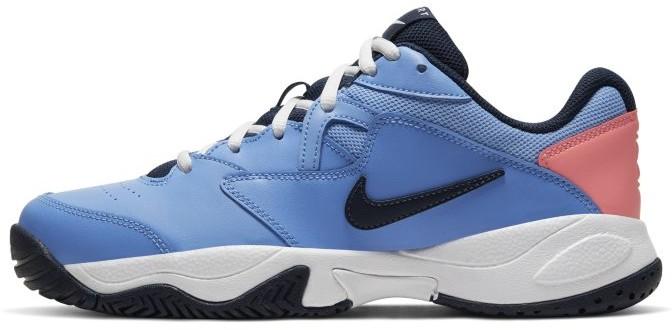 Damskie buty do tenisa na twarde korty NikeCourt Lite 2 Niebieski