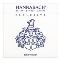 Hannabach 652742) Exclusive struna do gitary klasycznej heavy) H2