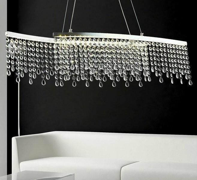 Lucesart LAMPA LED WISZĄCA KRYSZTAŁOWA NAD STÓŁ WYSPĘ ERIKA