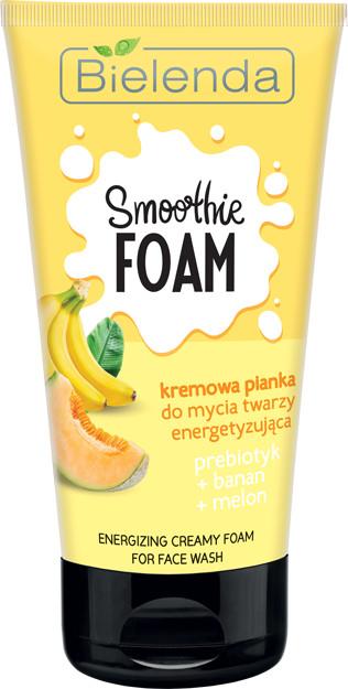 Bielenda Smoothie Care Pianka do mycia twarzy banan/melon 135ml