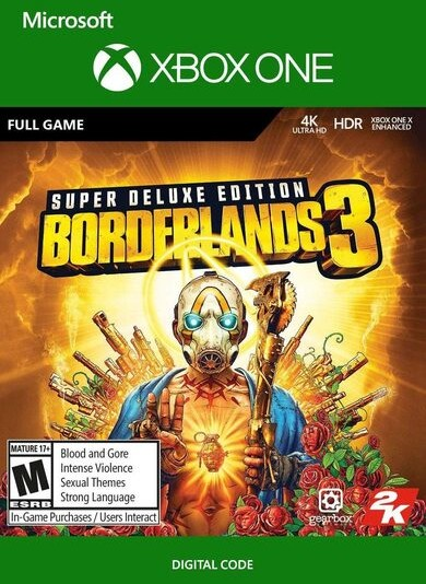Borderlands 3 Super Deluxe Edition (GRA XBOX ONE) wersja cyfrowa