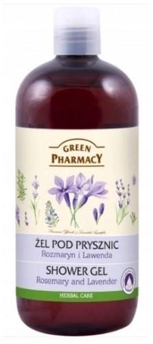 Green Pharmacy Pharm ŻEL POD PRYSZNIC ROZMARYN LAWENDA GREEN PHARMACY 500 ml E646-822C2