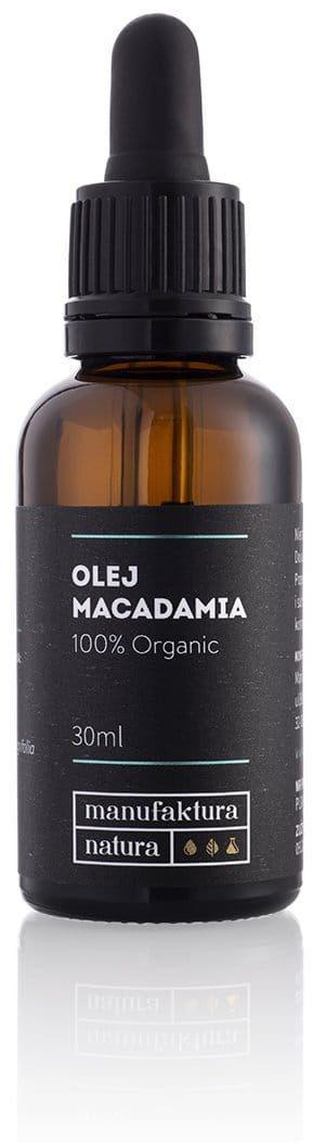 Manufaktura natura Manufaktura Natura Olej Macadamia 100% Organic, 30 ml 4C21-6596C
