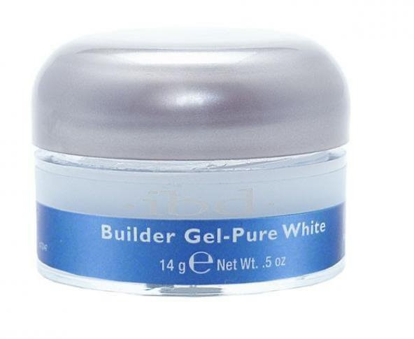IBD Hard Gel Builder Pure White 14g