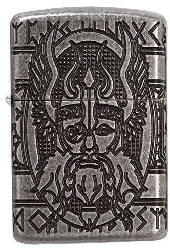 Zippo Odin zapalniczka benzynowa, mosiądz, przezroczysty, 6x 6x 8cm 60003589