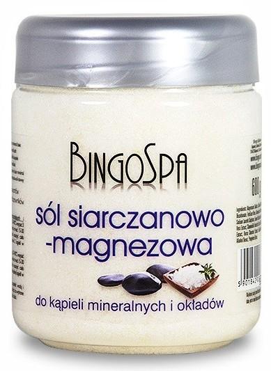 BingoSpa Sól Sól siarczanowo-magnezowa 550g 1234593360