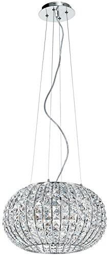 Eco Light ECO Light i Concert/S5A + +, wahadłówek/lampa wisząca, chrom, 60W, przezroczysty, 110x 45cm I-CONCERT/S5