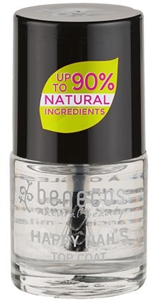 Benecos lakier do paznokci top coat Crystal, 9 ml