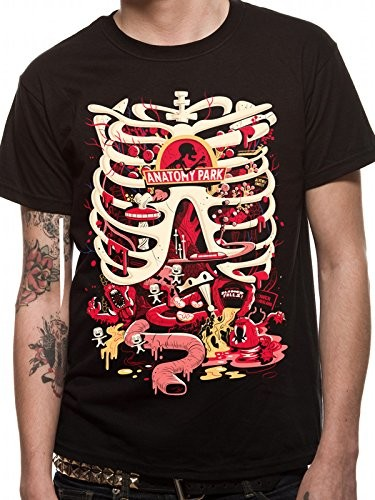 4da824c8e CID Rick and morty Anatomy Park T-Shirt czarny, kolor: czarny , rozmiar