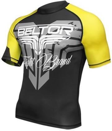 Beltor Roshguard black yellow short sleeve rozm. M + GRATIS PF-109