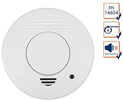Smartwares instalacja czujki dymu 10.044.62na baterie 10.044.62 (RM250)