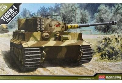 Academy Czołg Tiger I, wersja późna 13314