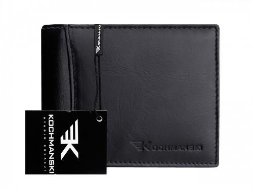 Kochmanski Studio Kreacji Skórzany portfel męski stop 1075