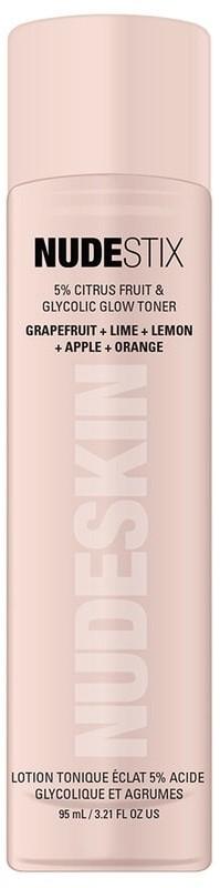 Nudestix Nudestix Pielęgnacja twarzy Nudeskin 5% Citrus Fruit & Glycolic Glow Toner Rozświetlający tonik z kwasem glikolowym i cytrynowym 95.0 ml