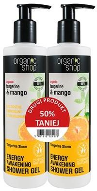 Eurobio Lab Żel pod prysznic mandarynka i mango 2 x 280 ml