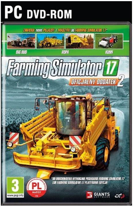 Farming Simulator 17 Oficjalny Dodatek 2 PC