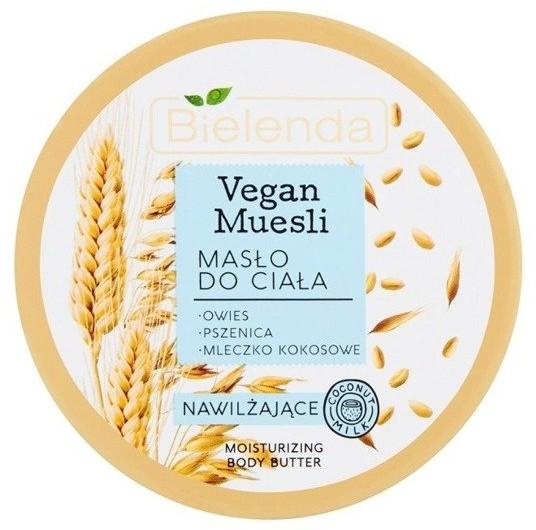 Bielenda Vegan Muesli Masło nawilżające do ciała 250ml 48889-uniw