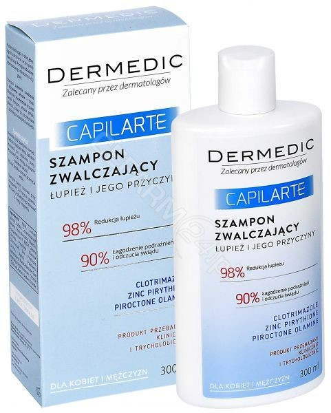 BIOGENED Dermedic capilarte szampon zwalczający łupież i jego przyczyny 300 ml