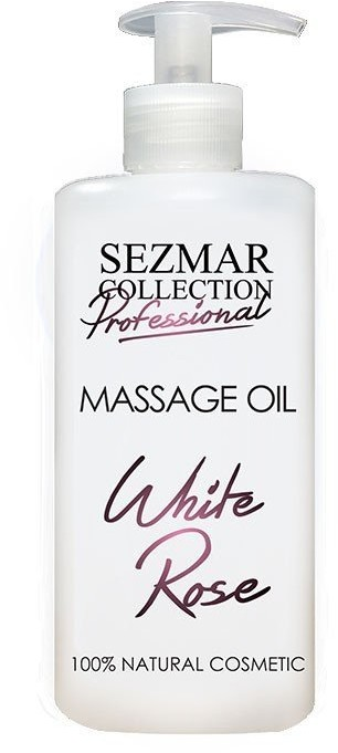 Hristina Hristina Naturalny olejek do masażu biała róża 500 ml
