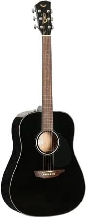 Samick Guitars SGW S-200D/BLK - gitara akustyczna