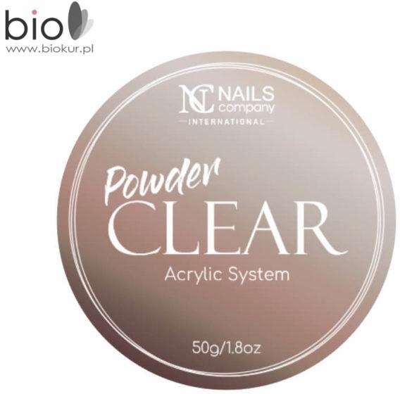 Nails Company Acryl Akryl szybkoschnący Clear 50 g