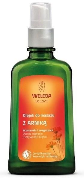 Weleda Olejek do masażu z arniką 100ml 48994-uniw