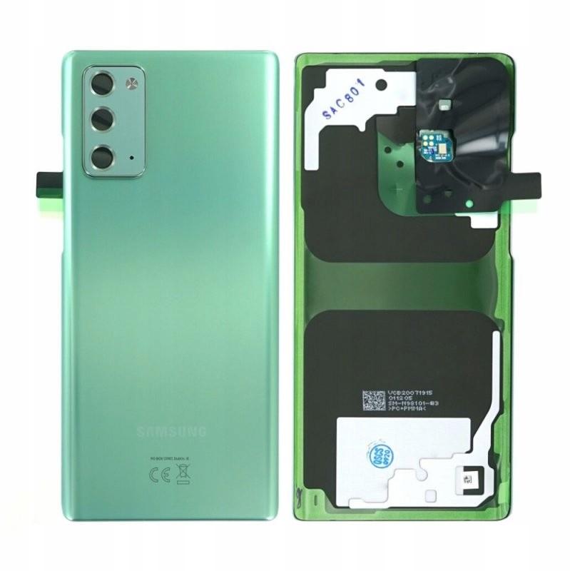 Samsung Org klapka Galaxy Note 20 SM-N980- zielony