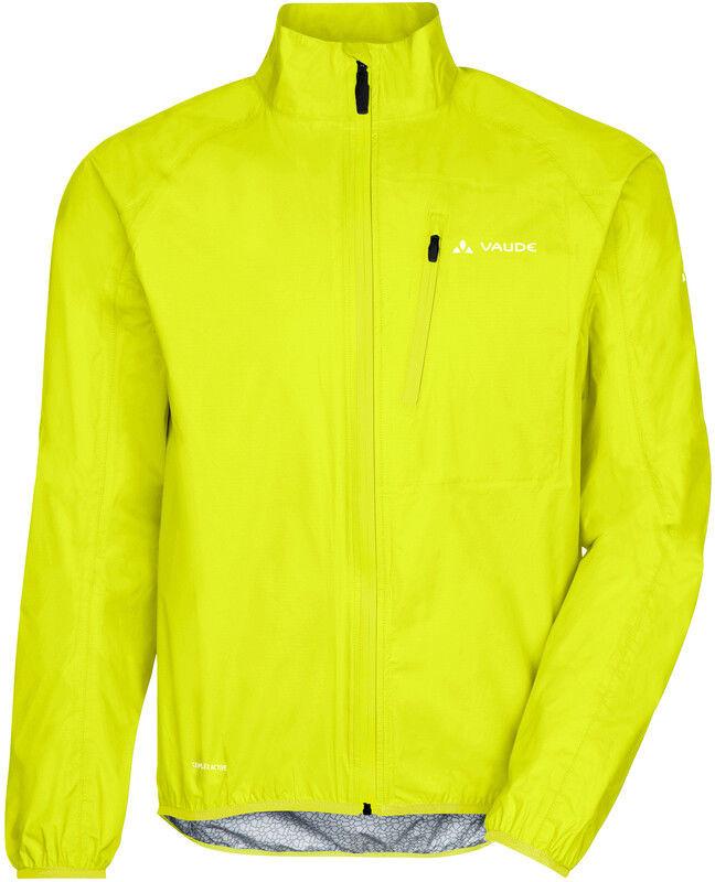 Vaude VAUDE Drop III Kurtka Mężczyźni, bright green L 2020 Kurtki MTB 049799715400