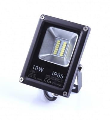 ART Naświetlacz LED 10W biały zimny - czarny