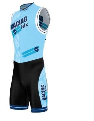 FDX FDX strój triathlonowy PRO Racing Triathlon Skinsuit czarno-niebieski