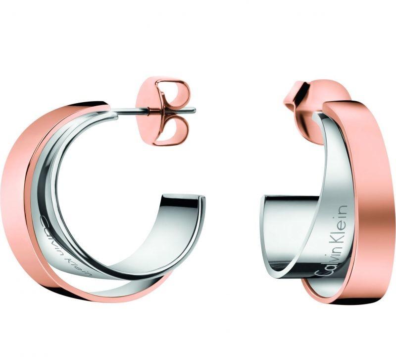 Calvin Klein kolczyki Unite bicolor kj5zpe200100 KJ5ZPE200100
