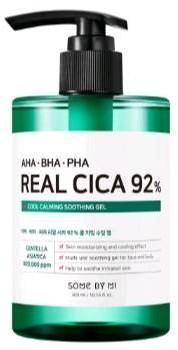 Some By Mi SomeByMi AHA/BHA/PHA Real Cica 92% Cool Calming Soothing Gel Łagodzący żel do wrażliwej skóry 300ml