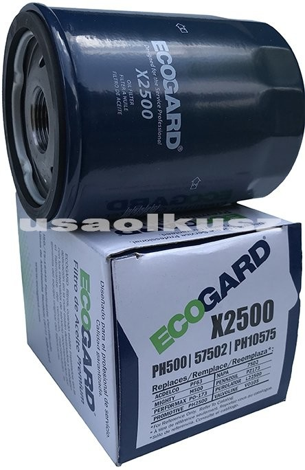 ECOGARD Filtr oleju silnika GMC Savana 4,3 V6 2018 PH10575