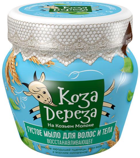Fitokosmetik Fitokosmetik KOZA DEREZA Regenerujące mydło do ciała i włosów 175ml