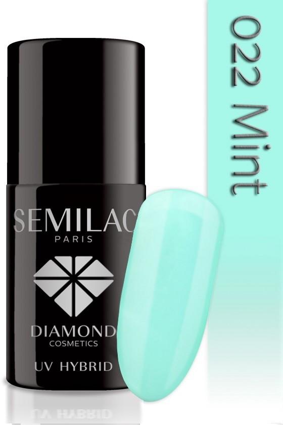 Semilac Lakier Hybrydowy Semilac 022 Mint - 7 Ml 4736