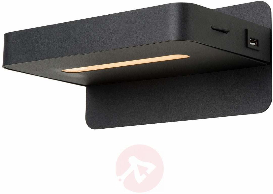 Lucide lucide atkin-łóżko lampa LED, metal, zintegrowana, 5W, 14x 25x 11.5cm [klasa energetyczna A + + +] 77280/05/30