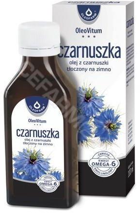 Oleofarm Olej z czarnuszki tłoczony na zimno 100 ml