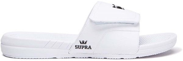 top Supra boty Locker White 100)