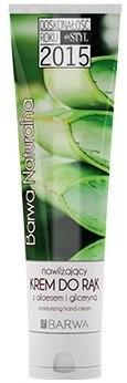Barwa Nawilżający krem do rąk Aloes i gliceryna - Natural Hand Cream Nawilżający krem do rąk Aloes i gliceryna - Natural Hand Cream