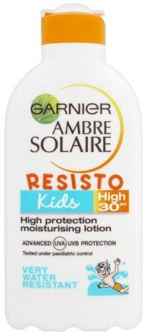 Garnier Ambre Solaire Kids suntan Very High Moisturising Milk SPF30 with Cactus nutriflavones and witamina E 200 ML 3600540305022