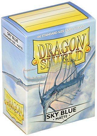 Arcane Tinmen Dragon Shield Standard Sleeves - Matte Sky Blue (100 Sleeves)