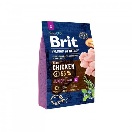 Brit Premium by Nature Junior Small S 3 kg