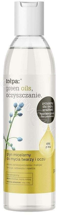 Tołpa Green Oils Oczyszczanie Płyn micelarny do mycia twarzy i oczu 200ml 37324-uniw
