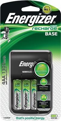 Energizer Ładowarka Base + 4 szt. akumulatorków AA EN-421422